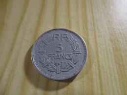 France - 5 Francs Lavrillier 1947 Alu.N°1774. - J. 5 Francs