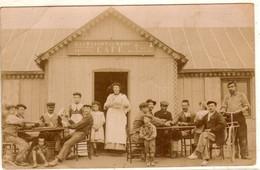 CARTE PHOTO   à Identifier Café écrite Du MANS Aux HERBIERS - A Identificar