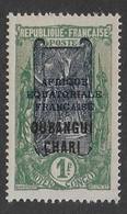 OUBANGUI-CHARI  1924 - YT 60** - Ongebruikt