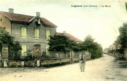 LAGRAVE Pres Cadalen  =   La Mairie    2062 - Villefranche D'Albigeois