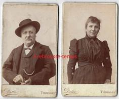 CDV Par Dotta à Thoissey (Ain)-couple Original - Oud (voor 1900)