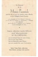Binche, Mission Paroissiale En 1949 - Imágenes Religiosas