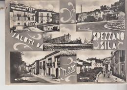 SPEZZANO DELLA SILA COSENZA SALUTI VEDUTE VG 1957 - Cosenza