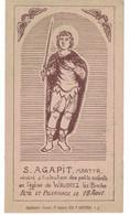 Waudrez, Binche, Saint Agapit Pélerinage Le 18 Août. - Imágenes Religiosas