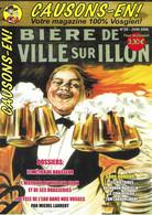 CAUSONS-EN !    Magazine Vosgien N°20  Juin 2006.   Bière Et Brasseries De Ville Sur Illon.   Le Métier De Brasseur. - Tourism & Regions
