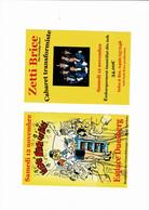 Cabaret Verviers Pub Natacha 2 Pieces - Programas