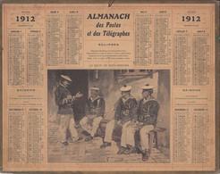 ALMANACH Des Postes Et Des Telégraphes 1912 Le Recit Du Sous Officier - Formato Grande : 1901-20