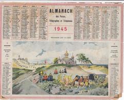 ALMANACH Des Postes Et Des Telégraphes 1945 Procession Sur La Lande - Formato Grande : 1901-20