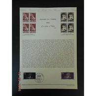 Document Officiel La Poste - Journée Du Timbre 1980 - Documents Of Postal Services