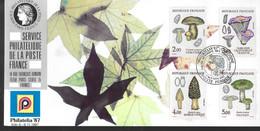 FRANCE Carte 1987 Champignons - Hongos