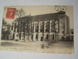 D28D  CHARTRES La  Cathédrale  Et L Eglise SAINT PIERRE 2 CARTES - Chartres
