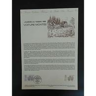 Document Officiel La Poste - Journée Du Timbre 1988 - Documents Of Postal Services