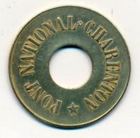 JETON // BATEAUX DE LA SEINE // PONT NATIONAL CHARENTON - Monetary / Of Necessity