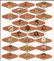 Olympische Spelen Mexico 68 / Jeux Olympic / Bagues De Cigares / Cigar Bands - Sin Clasificación