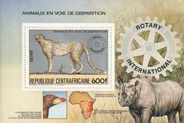 CENTRAFRIQUE - BLOC N°69B ** (1983) - Repubblica Centroafricana