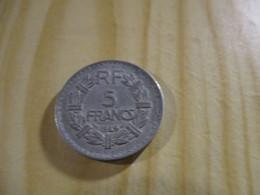 France - 5 Francs Lavrillier 1949 Alu.N°1784. - J. 5 Francs