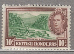 BRITISH HONDURAS 1938 River Mountains MLH (*) Mi 117 #17040 - British Honduras (...-1970)