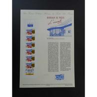 Document Officiel La Poste - Carnet Journée Du Timbre 1992 - Documents Of Postal Services