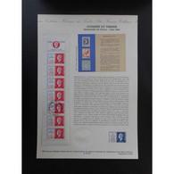Document Officiel La Poste - Carnet Journée Du Timbre 1994 - Documents Of Postal Services