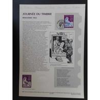 Document Officiel La Poste - Journée Du Timbre 1997 - Documents Of Postal Services