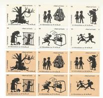 Germany 12 Old Matchbox Labels - Matchbox Labels