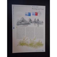 Document Officiel La Poste - Fête Du Timbre 2010. Protégeons L'eau - Documents Of Postal Services
