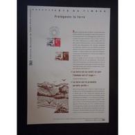 Document Officiel La Poste - Fête Du Timbre 2011 - Protégeons La Terre - Documents Of Postal Services