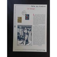Document Officiel La Poste - Fête Du Timbre 2015 - Le Tango - Documents Of Postal Services