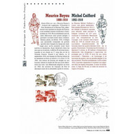 Document Officiel La Poste - Poste Aérienne - Maurice Boyau - Michel Coiffard - Postdokumente