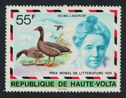 Upper Volta Bean Geese Birds Nobel Prize 1977 MNH SG#452 - Alto Volta (1958-1984)