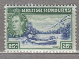 BRITISH HONDURAS 1938 Dorey MLH (*) Mi 119 #17045 - British Honduras (...-1970)