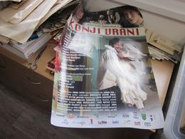 Poster Plakat Konji Vrani Jesen Tize Dunjo Moja Milan Vaic,Kalina Kovacevic, Milena Vasic Raznatovic Andrija Mi 50x70 Cm - Affiches & Posters
