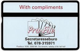 Netherlands - KPN - L&G - RCZ014 - Pro-File Secretaresseburo - 104H - 4Units, 09.1991, 1.000ex, Mint - Privé