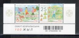 Kasachstan / Kazakhstan 2007 EUROPA Paar/pair ** - 2007