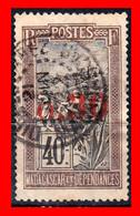 MADAGASCAR ( FRANCIA COLONIAS ) AÑO 1921 SOBRECARGADOS - Madagaskar (1960-...)