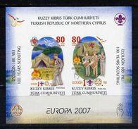 Türkisch-Zypern / Turkish Republic Of Northern Cyprus / Chypre Turc 2007 Block EUROPA ** - 2007
