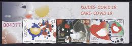 Kosovo 2020 Care Health Disease Medicine Covid 19 Set MNH - Kosovo