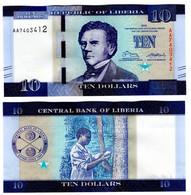 Liberia - 10 Dollars 2016 UNC Lemberg-Zp - Liberia