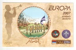 Serbien / Serbia / Serbie 2007 MH/booklet EUROPA ** - 2007