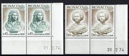 Monaco // Mi. 1114/1115 ** - 1974