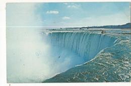 CPSM, Canada ,N° 113024 , The Horseshoe Falls Roars  A Nighty ,Welcome, Ed. M. Spitalny, 1984 - Niagara Falls