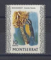 """MONTSERRAT...QUEEN ELIZABETH II...(1952-NOW..)...."""" 1970..""""....BANANAQUIT.........10c......SG247.........MH... - Andere"""