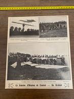 1910-30 PATI Semaine D Aviation De Tournai Un Accident Planeur Scrive Vandamme - Collections