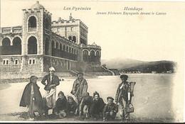 64 -  HENDAYE - Jeunes Pêcheurs Espagnols Devant Le Casino   271 - Hendaye