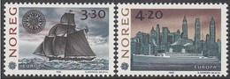 Norway Norge Norvège 1992  Yvertn° 1053-1054 *** MNH Cote 4,50 Euro CEPT Europa - 1992