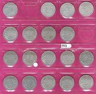 FRANCE Monnaies  Lot 18 Pièces 2 Francs Alu Bazor Et Morlon Toutes Différentes TB G536/538 - I. 2 Francs