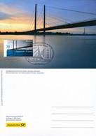 84372) BRD - MK 3/2018 = Mi 3383 - 40545 DÜSSELDORF Vom 03.05.2018 - Aufl:2.500 - 70C   CEPT 18, Brücken - Maximum Kaarten