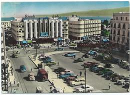 Lebanon Beyrouth Beirut Place Du Rivoli Tram Tramway Strassenbahn Theatre Cinema 50's-60's - Libanon