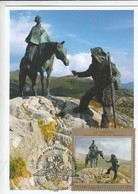 2019 04 11 Russia Cartes Maximum Cards 75 Napoleonic Wars Italian Swiss Campaigns Of Suvorov 1799 - Cartoline Maximum