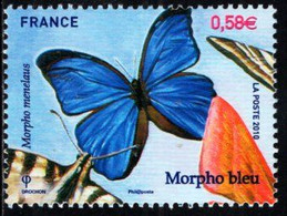 France - 2010 - Butterflies - Mint Stamp - Ongebruikt